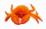 Jolly Pets Tug-a-Mal Crab|Squeaky Tug Toy for Dogs