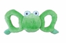 Jolly Pets Tug-a-Mal Frog|Squeaky Tug Toy for Dogs