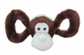 Jolly Pets Tug-a-Mal Monkey|Squeaky Tug Toy for Dogs