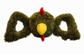 Jolly Pets Tug-a-Mal Rooster Squeaky Toy for Pets, Small