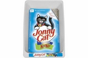 Jonny Cat Cat Tray with Free Litter - Disposable