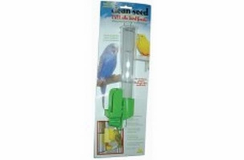 JW Pet Insight Clean Seed Silo Bird Feeder Tall