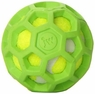 JW Pet Company 42203 Proten Hol-ee Roller Lime Green Tennis Ball, Mini, Assorted Colors (Green/Red/Blue)