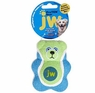 JW Pet Company 42218 Proten Bear Toy for Pets, Small, Assorted Colors (Green/Pink or Green/Blue)