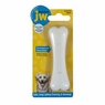 JW Pet Company 46106 EverTuff Peanut Butter Chew Bone Toy for Pets, Small, White