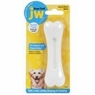 JW Pet Company 46110 EverTuff Bone Chicken Flavored Chew Toy Pets, Small, White