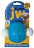 JW Pet Company 46123 EverTuff Wobbling Ball Toys for Pets, Medium, Assorted Colors (White with Orange or Blue)
