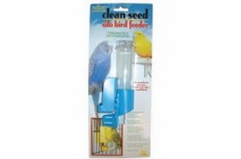 JW Pet Insight Clean Seed Silo Bird Feeder