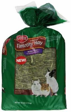 Kaytee Wafer Cut Hay Food for Pets, 60-Ounce