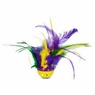 "KONG Active Mega Feather Ball Cat Toy, 4"" W X 6"" H"