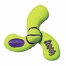 KONG Air Squeaker Spinner Dog Toy, Yellow