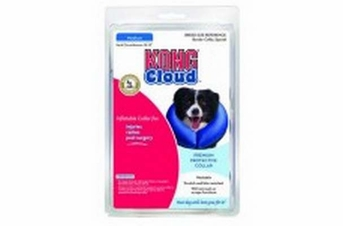 Kong Cloud Inflatable E-Collar Medium Neck Circumference 10-13in