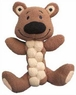 KONG Pudge Braidz Dog Squeaker Toy, Medium/Large