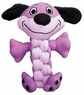 KONG Pudge Braidz Dog Toy, Medium/Large