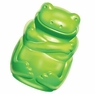 KONG Squeezz Jels Frog Squeaking Dog Toy, Medium, Green