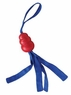 KONG Tails Dog Toy, Medium, Red/Blue