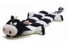 Plush Puppies Long Body Squeaker Mat Cow
