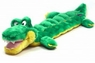 Plush Puppies Long Body Squeaker Mat Gator