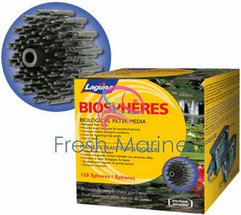 Laguna Ponds PowerFlo Filter Media Pad, Power Flo BioSpheres Bio Ball 300 Box, From Laguna