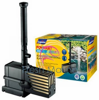 Laguna Ponds PowerJet 200 Fountain, Ponds Fountain Pump Kit, 200 GPH from Laguna