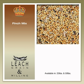Leach Bird Mixes Finch Mix, 25 Lb Each