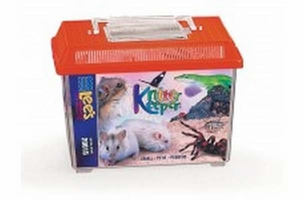 Lee's Kritter Keeper Small Rectangle w Lid Label 1pk