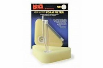 Lee's Triangle Dual-Action Foam Filter Up to 25gal