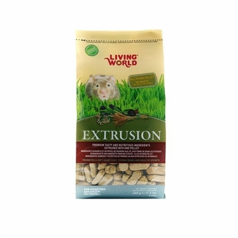 Living World Extrusion Hamster Food, 1.5 lb, standup zipper bag, From Hagen