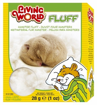 Living World Hamster Fluff, 1 oz, From Hagen