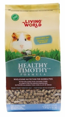 Living World Healthy Timothy, Guinea Pig 4 lb, From Hagen