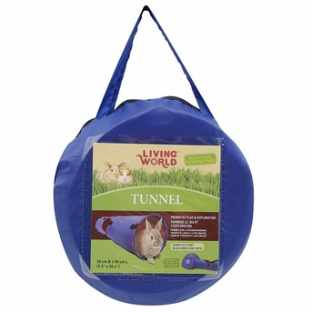 Living World Tunnel, Large, Blue/Red, From Hagen