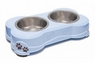 Loving Pet Dolce Double Diner Murano Blue 1pt