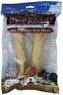 Loving Pets Pure Buffalo 7 to 9-Inch Meaty Femur Bone Dog Treat, 2-Pack