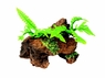 Marina Naturals Malaysian Driftwood w/Plants, Small, From Hagen