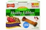 Nylabone Healthy Edibles Chicken Roast Beef Variety Pantry Pack Petite 34ct