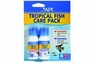 API Stress Coat & Stress Zyme Tropical Fish Start Up Pack 1oz Bottles