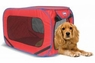 SportPet Pop Open Kennel Medium Red