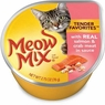 Meow Mix Tender Favorites Wet Cat Food 24/2.75-Ounce Cups