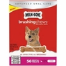 Milk-Bone Brushing Chews Daily Dental Treats - Mini - 22oz - 56 bones