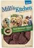 Milo's Kitchen Dog Treats, Beef Sausage Slices with Rice, 3-Ounce (Pack of 4)