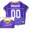 Minnesota Vikings NFL Dog Jersey - Large