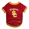 Mirage Pet Products Sports Dog Apparel USC Trojans Pet Jersey Costume Outfit Small