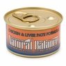 Natural Balance Cat - Can Food Canned Cat Chicken And Liver Pet, 24 Pack Of 3 Oz Case