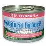 Natural Balance Dog - Can Food Canned Dog Beef And Rice, 12 Pack Of 13 Oz Case