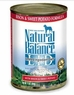 Natural Balance Dog - Can Food Canned Dog - Bison And Sweet Potato, 12 Pack Of 13 Oz Case