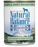 Natural Balance Dog - Can Food Canned Dog Chicken, 12 Pack Of 6 Oz Case