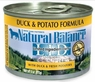 Natural Balance Dog - Can Food Canned Dog Duck And Potato, 12 Pack Of 6 Oz Case