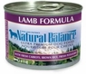 Natural Balance Dog - Can Food Canned Dog Lamb, 12 Pack Of 6 Oz Case