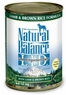 Natural Balance Dog - Can Food Canned Dog - Lamb And Brown Rice, 12 Pack Of 13 Oz Case