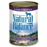 Natural Balance Dog - Can Food Canned Dog Lamb And Rice, 12 Pack Of 13 Oz Case